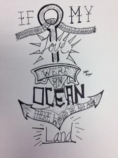 If My Love Were An Ocean by Jennifer Guzman